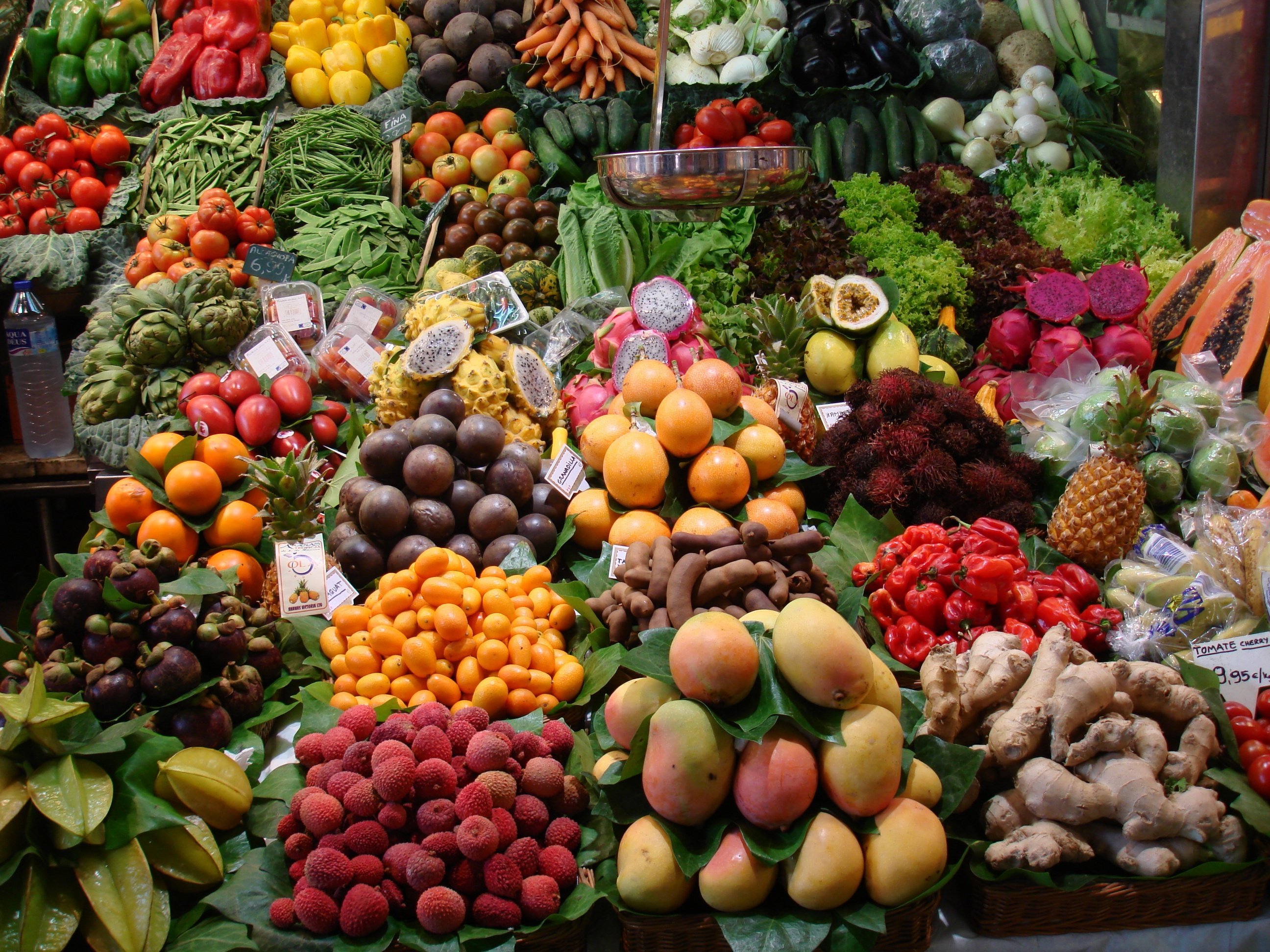 peperoncino frutta verdura