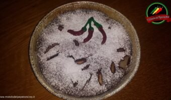 Torta cioccolato pere e peperoncino