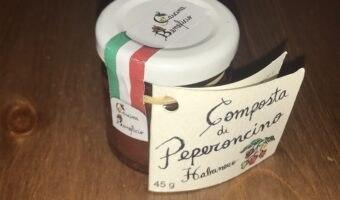Composta di peperoncino habanero