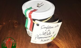 Confettura di Mele e Peperoncino Habanero Extra