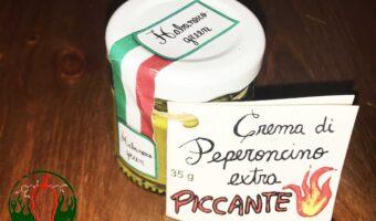 Crema di Peperoncino Habanero Green extra piccante