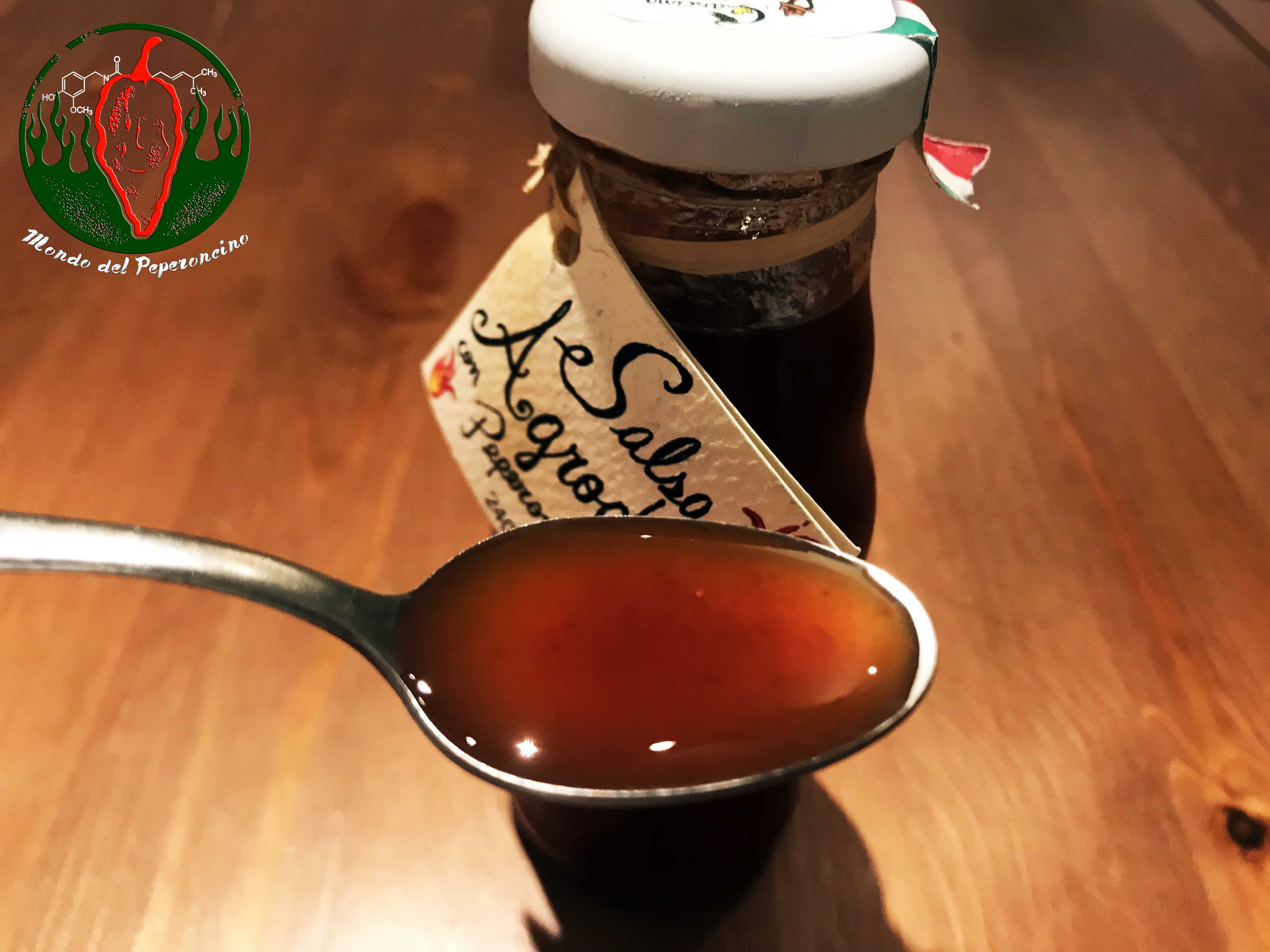 salsa agrodolce con fatalii
