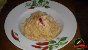 spaghetti cacio e peperoncino
