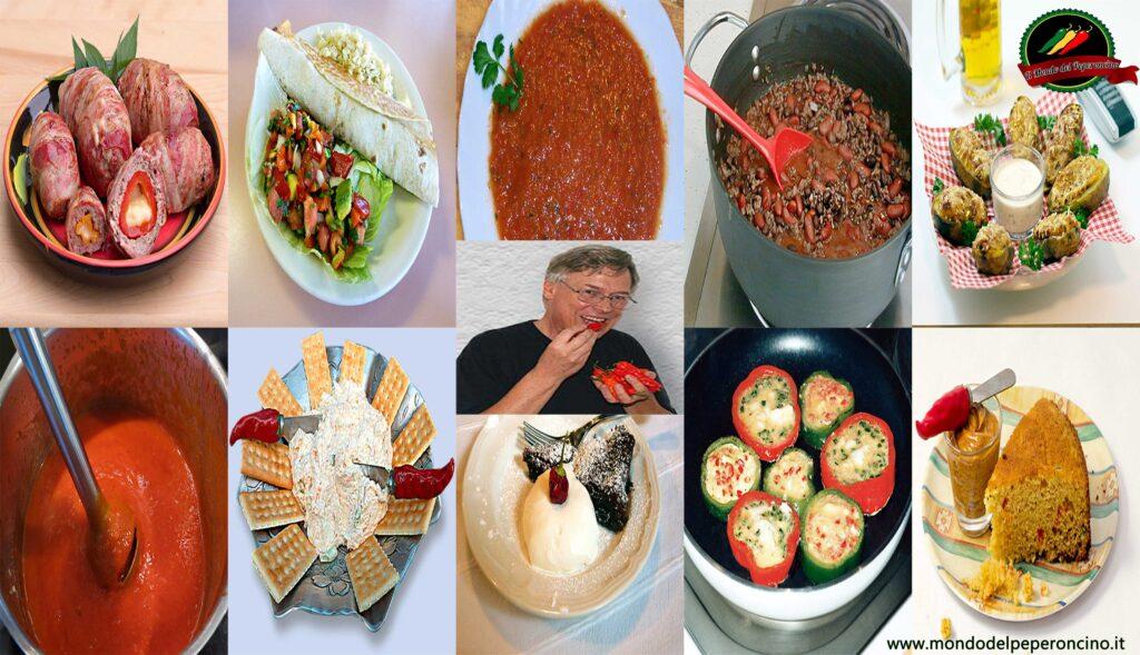 10 ricette piccanti