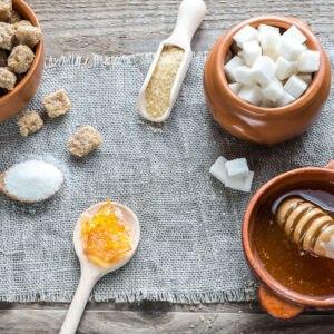 alleviare sensazione del piccante con zucchero o miele
