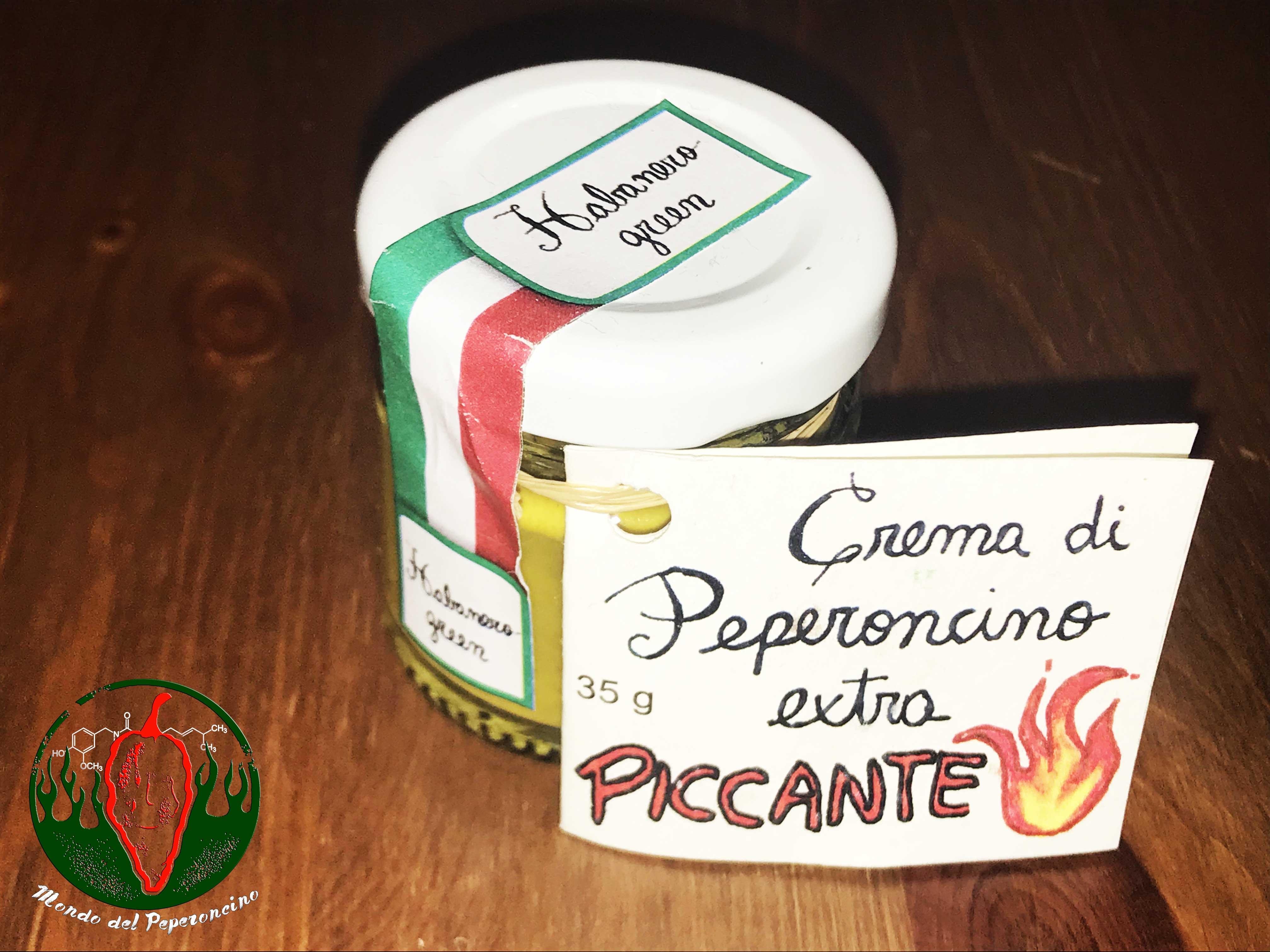 crema di peperoncino habanero green