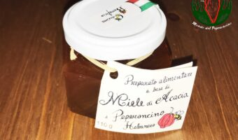 Miele al peperoncino Habanero