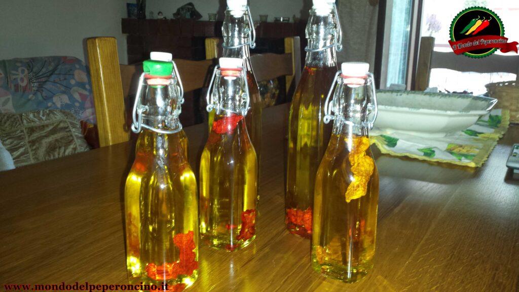 olio piccante come fare