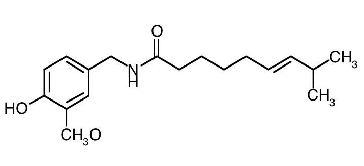 peperoncino antitumorale capsaicina