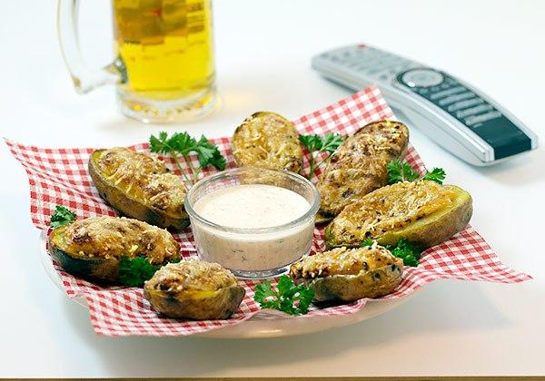 ricetta piccante barchette di patate